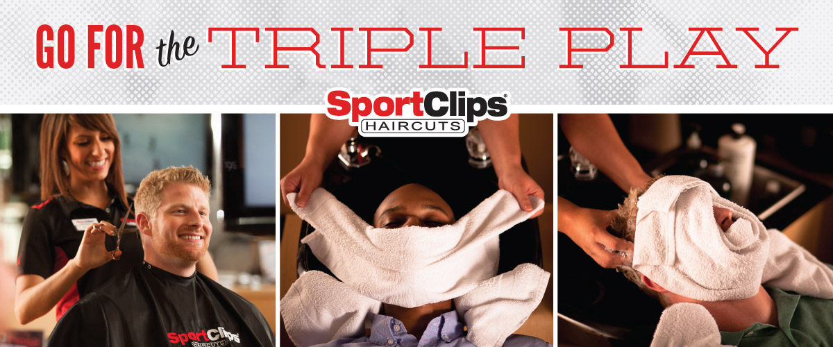 The Sport Clips Haircuts of South Reno Triple Play